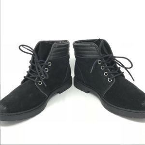 SAM EDELMAN | Phoebe black suede ankle boots